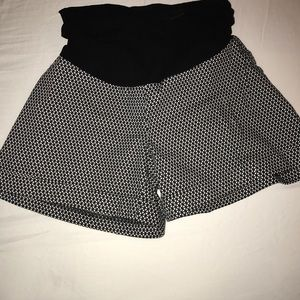 Motherhood Maternity Shorts with full panel